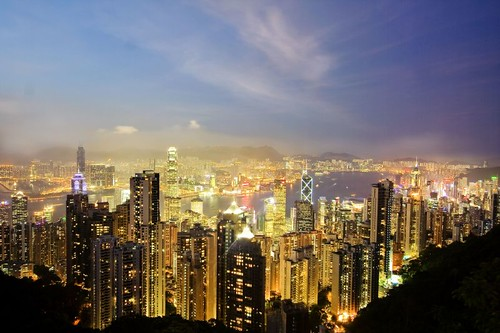Hong Kong at Twilight