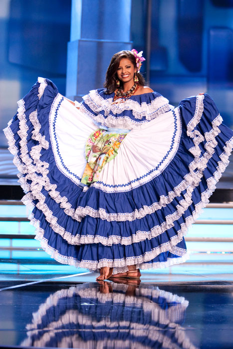 Traje Típico de Miss Honduras