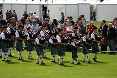 Scottish Band at The Gathering