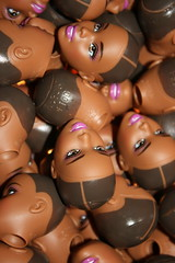 Barbie Heads 1 (Pondspider) Tags: china toys factory barbie heads mattell anneroberts annecattrell pondspider