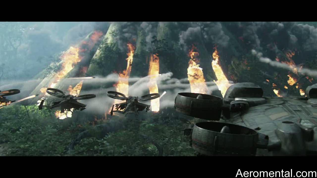 película Avatar helicópteros