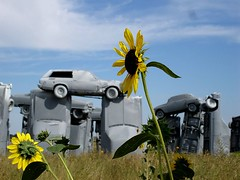 Carhenge (by: Kevin Saff, creative commons license)