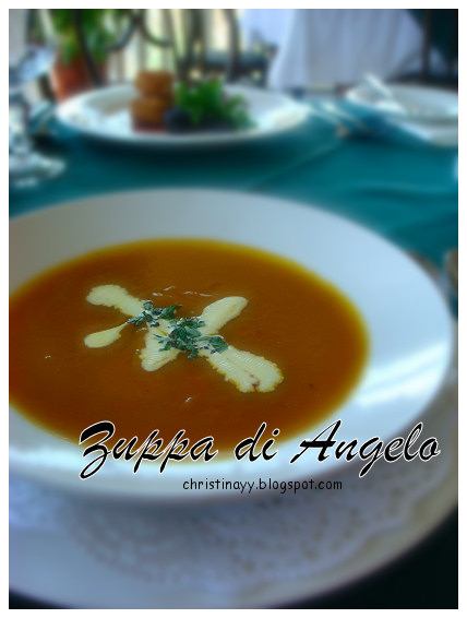 Angelo's House Restaurant: Zuppa di Angelo (Soup of the Day)