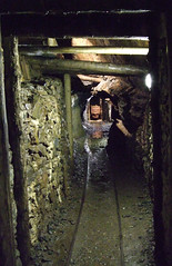 Inside The Laxey Mine, Isle Of Man.