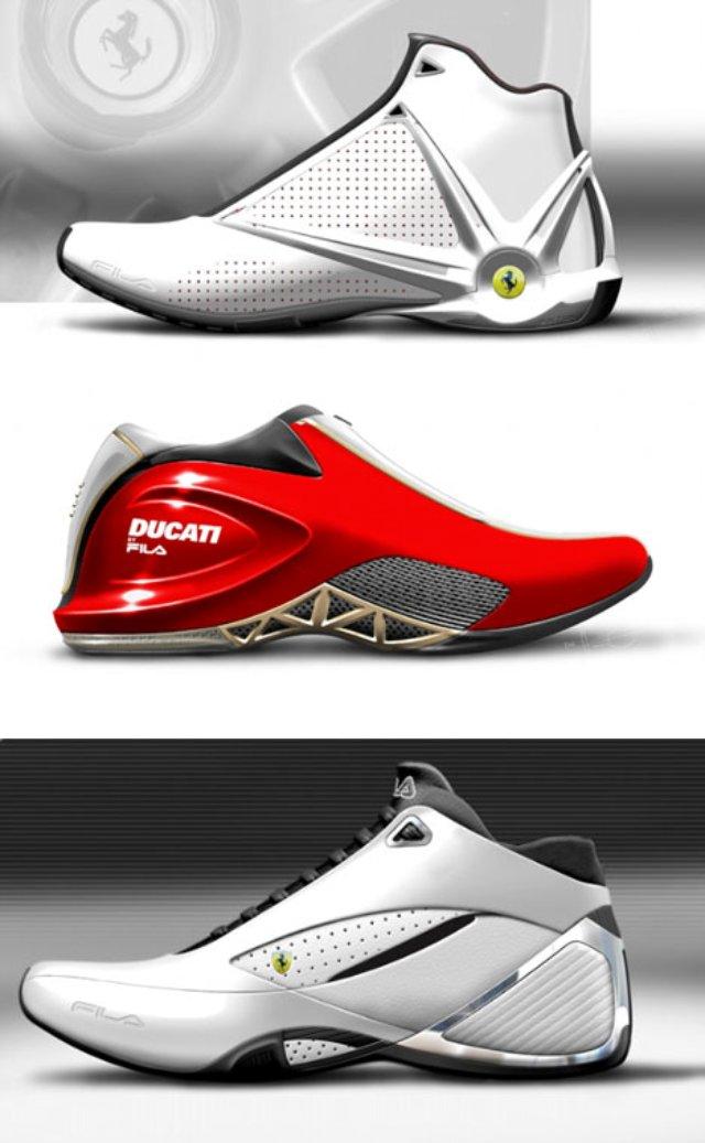 fila ducati shoes