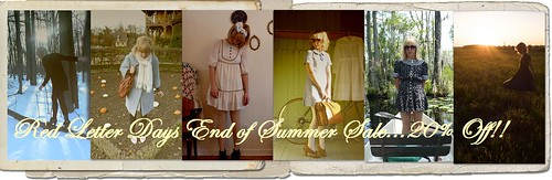 Red Letter Days End of Summer Sale