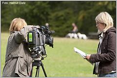 Sat1 - TV-Dreh - Maygyar Agar - FCI EM 2009
