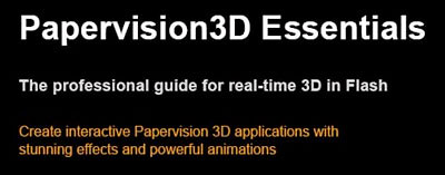 Papervision3D Essentials book