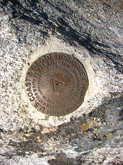Summit of Parker Peak, Selkirk Mountains, North Idaho.