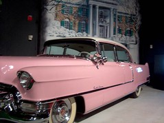 Elvis's first Cadillac (by: Keath & Ceridwen)