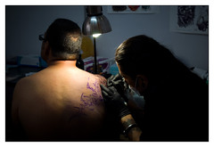 (Casmon) Tags: guadalajara tatoo tinta diversión tatuaje agujas artecorporal rayarse sonyalphadslra200 expotatuaje2009