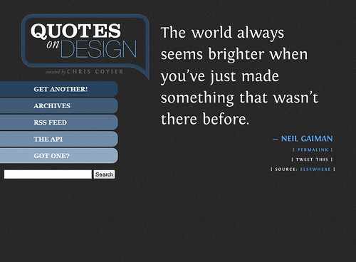 quotes on design Neil Gaiman