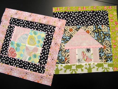 September Bee Modern Blocks