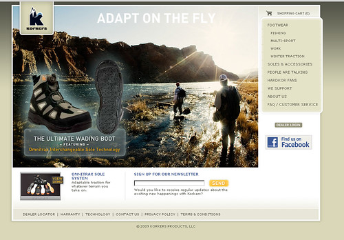 Korkers_website_frontpage