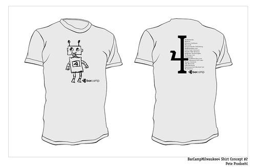 BarCampMilwaukee4 Shirt Concept #2