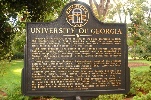 The University of Georgia in Athens
