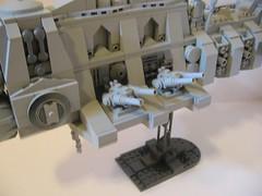 Strike Cruiser (guns) (ABS doohickies) Tags: ship space cop guns cruiser