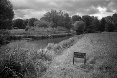 Private (Rich1078346) Tags: uk england bw film 35mm private pentax zoom land winchester ilford fp4 compact 928 id11 espio