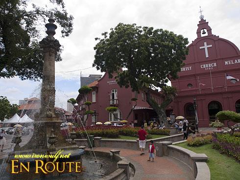 Malacca Red Square Fountain