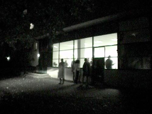 Auswärtskunstraum in Bornheim. Oktober 2002