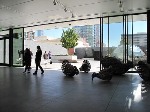 SF MOMA rooftop garden