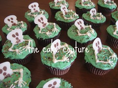 2. Skeleton Cupcakes (The Cake Couture (is currently not taking any orde) Tags: children skulls skeleton skull scary chocolate cupcake vanilla  chocolatecake doha qatar   occassion                                 thecakecouture