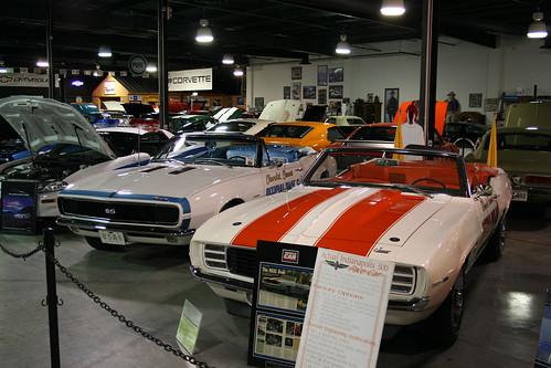Floyd Garret Muscle Car Museum Camaro Pace Car