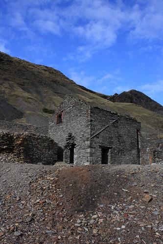 Mine building, Cwmystwyth