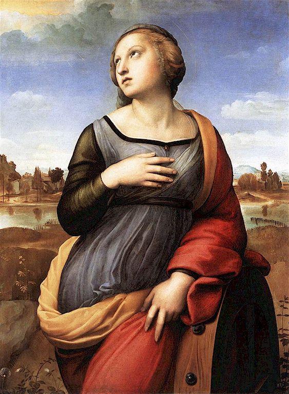 Raphael. St. Catherine of Alexandria