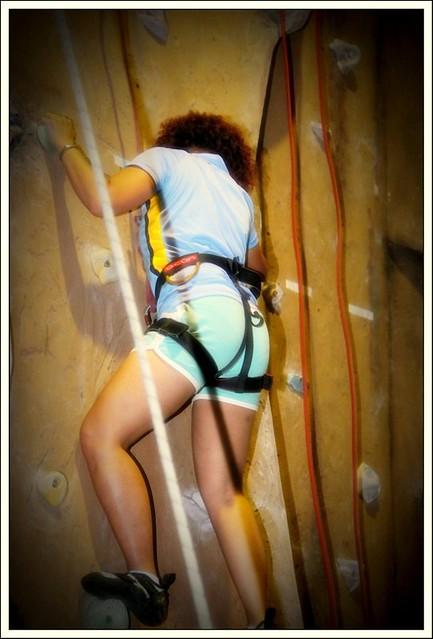 climbing - rachel lamam