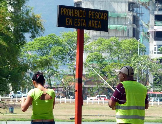 Pescar no está prohibido