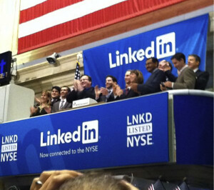 LinkedIn IPO: photo courtesy of Lindsey Pollak