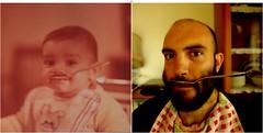 30 years. Foto #1500 (@potti) Tags: canon beard big foto little bicicleta spoon cap gran fav 1500 petit ulls selfie cullera creampie barbut sifilis 30anys cagatelorito silitrotolueno