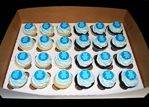 5847722199 84d46b4f90 Cupcake Ideas for a Baby Shower