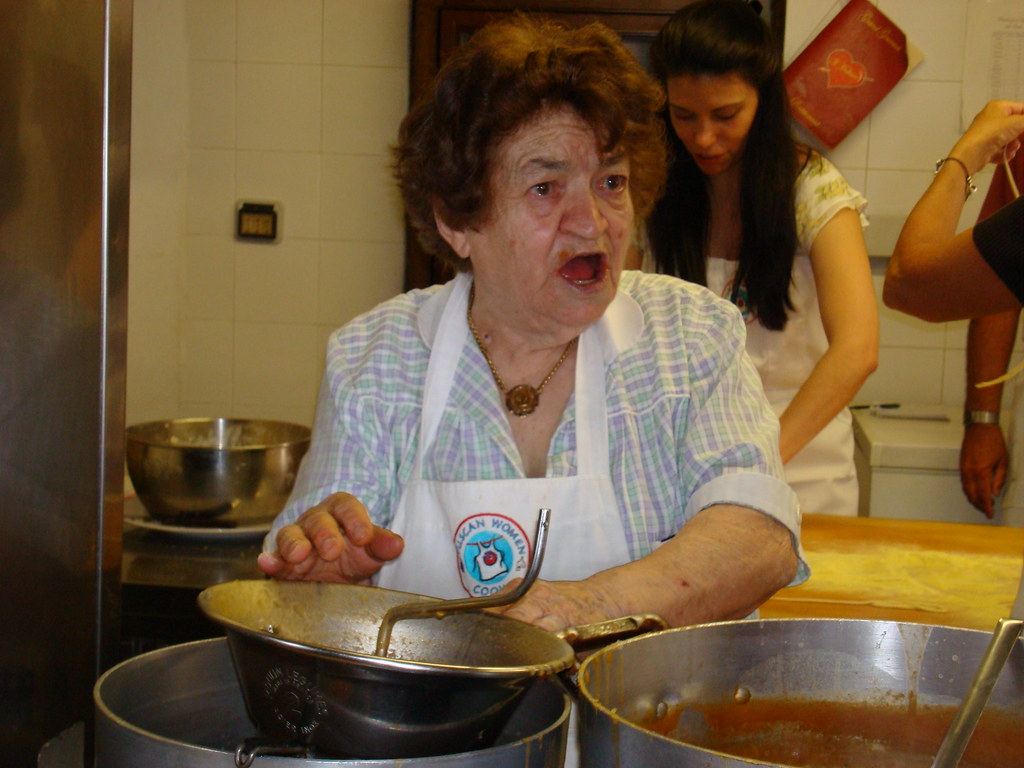 Tuscan Woman Cooks