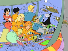 Josie and the Pussycats in Outer Space (slappy427) Tags: jonnyquest spaceghost scoobydoo 1970s flintstones josieandthepussycats jetsons muttley yogibear bettyrubble huckleberryhound fredflintstone barneyrubble hannabarbera johnnyquest topcat saturdaymorningcartoons wilmaflintstone 1960s quickdrawmcgraw laffalympics pebblesandbammbamm dinoflintstone josieandthepussycatsinouterspace