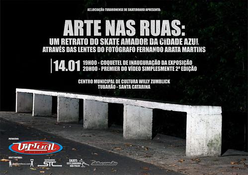 Arte nas Ruas: um retrato do skate amador da cidade azul
