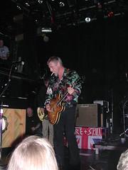 Weller smoking between songs (sak335) Tags: music newyork live jam irvingplaza paulweller stylecouncil