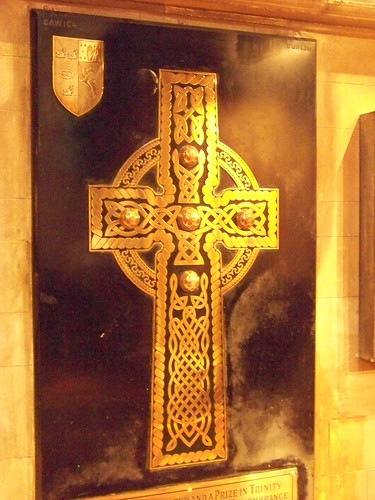 Celtic Cross brass