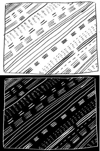 2tone pattern sketch