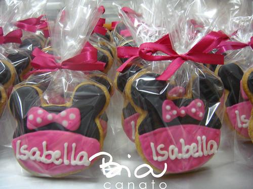 "Minnie ""rosa"" na embalagem..."