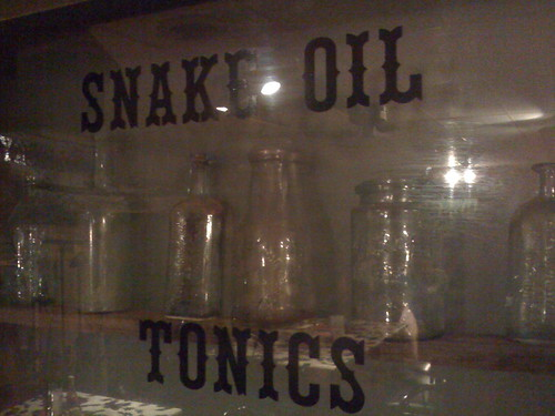 Snake Oil Tonics By Wesley Fryer