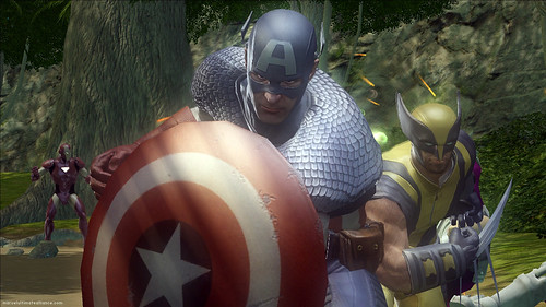 Marvel Ultimate Alliance 2 Capitán América