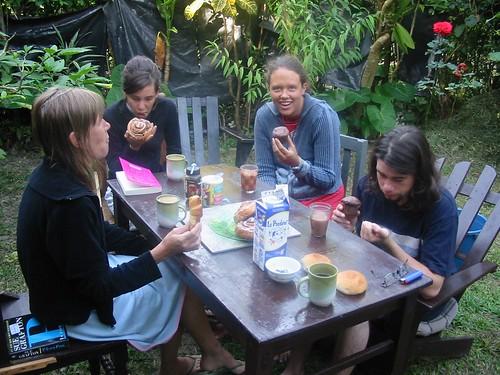 Lekker ontbijt in Panajachel