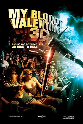 My Bloody Valentine 3D (poster 1)