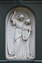 You're coming with me... (xollob58) Tags: friedhof cemetery grave angel germany memorial granite marble engel grab darmstadt grief denkmal alterfriedhof trauer marmor granit femalefigure flickrgolfclub weiblichefigur