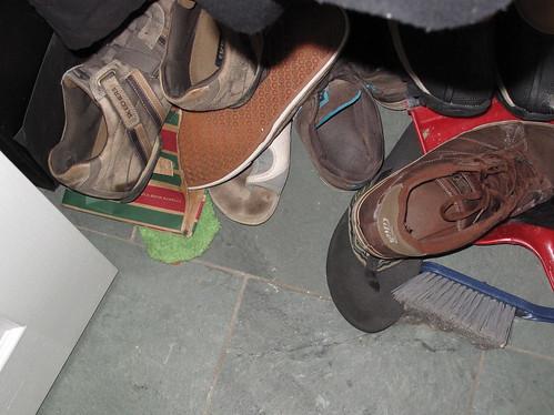 Peeking Sandal