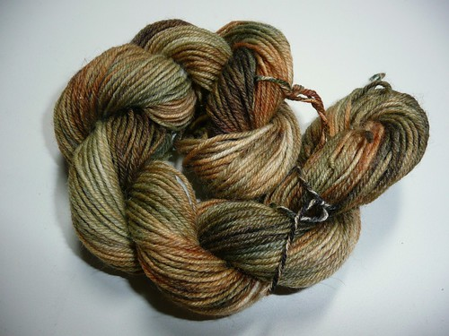 Fixation handdyed sock yarn