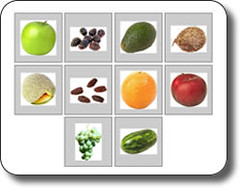 Free Flash Cards - Fruits (learningtoday05) Tags: orange fruits avocado coconut free watermelon flashcards blackberries cantaloupe printables greengrapes driedfigs grannysmithapple redplum flashcardgame