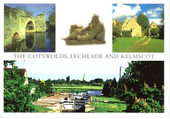 The Cotswolds, Lechlade and Kelmscot
